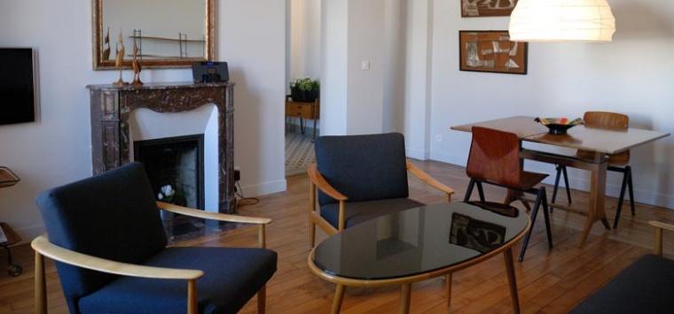 beautiful duintrieur et dcoration duintrieur duun appartement p m with dcorateur d intrieur connu. Black Bedroom Furniture Sets. Home Design Ideas