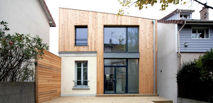 Architecte conception suivi et coordination de travaux for Extension maison bordeaux