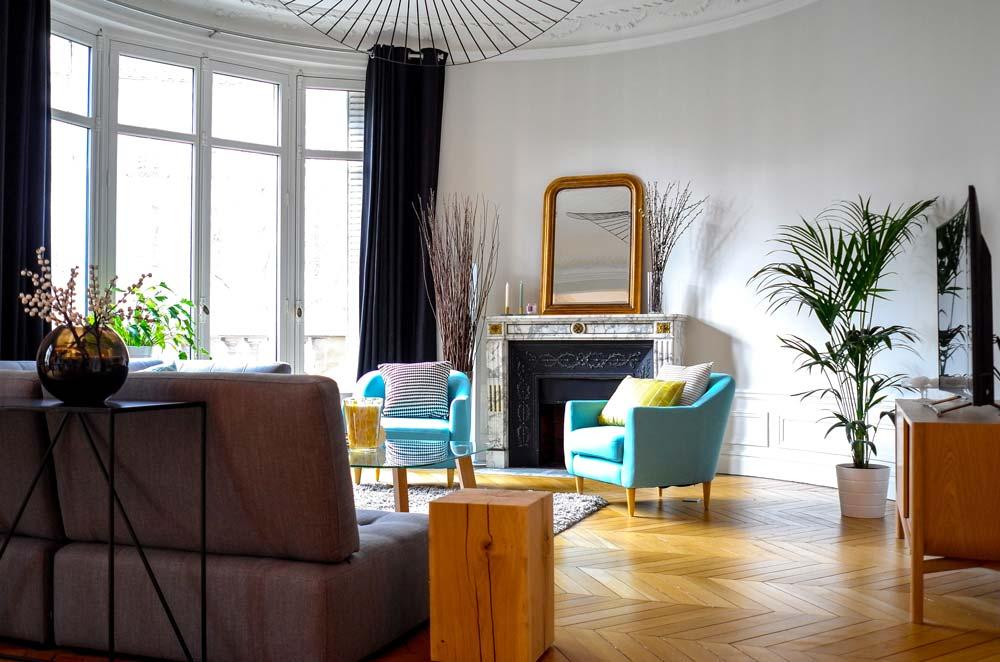Moderniser un appartement haussmannien vétuste | Créateurs d ...