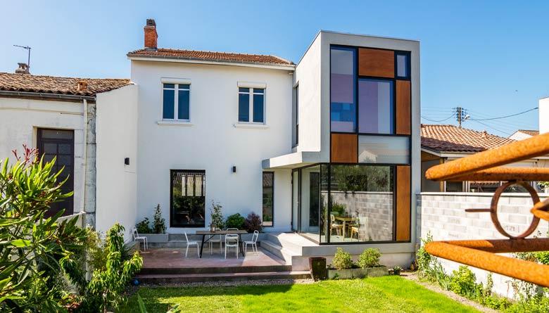 Rénovation d'une maison individuelle par un architecte | Bordeaux
