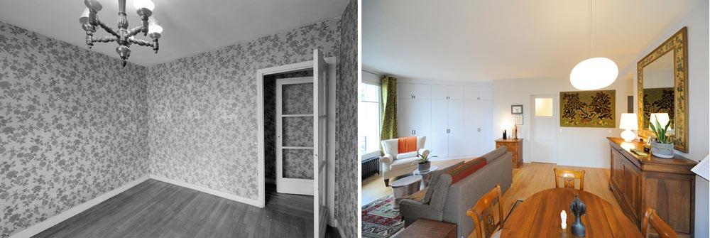 d co appartement 2 pieces. Black Bedroom Furniture Sets. Home Design Ideas