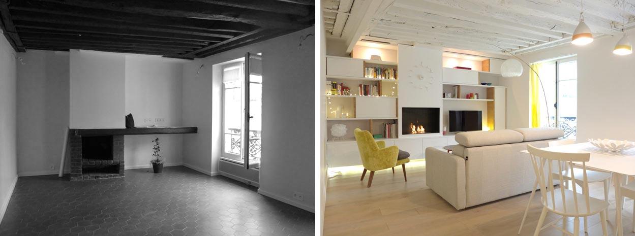 Appartement 2 pi ces 42m2 bordeaux for Architecte d decoration interieur