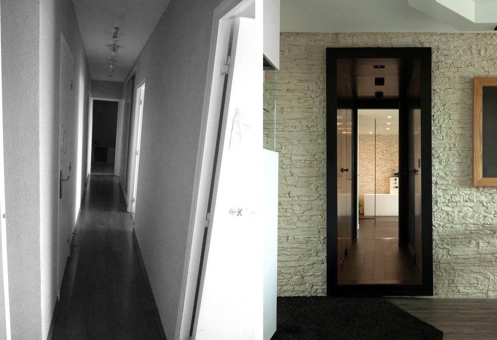 Avant apr s architecture d 39 int rieur d 39 un 4 pi ces de for Faire appel a un architecte d interieur