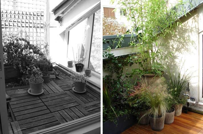 am nagement d 39 une terrasse bordeaux. Black Bedroom Furniture Sets. Home Design Ideas