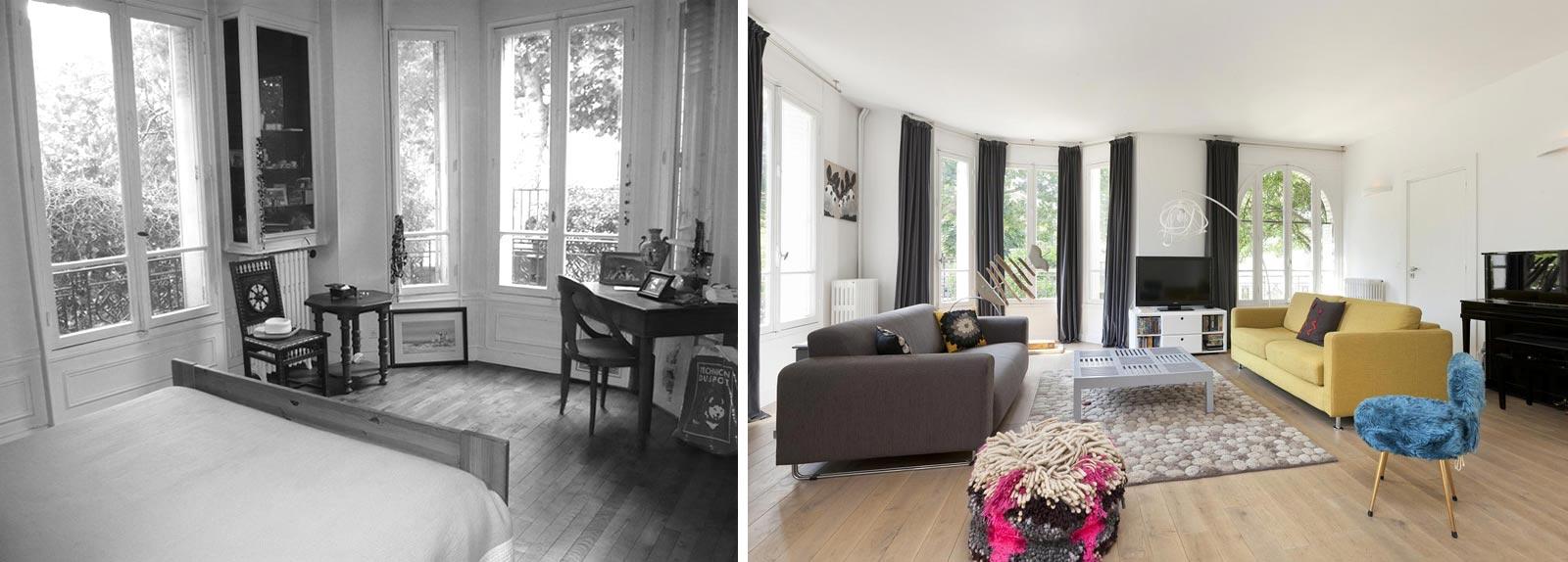 Relooking d\'intérieur d\'une maison individuelle de 5 pièces à Bordeaux